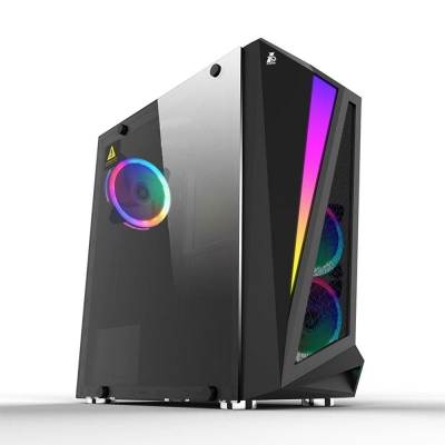 Игровой компьютер ARENA 2647 Ryzen 7 2700X/8 ГБ/NVIDIA GeForce RTX 2060 SUPER 8 ГБ/Без HDD/480 ГБ SSD/DOS